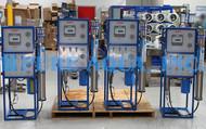 Sistema Comercial Ósmosis Inversa para Agua Salobre 4x 1,500 GPD - Polonia