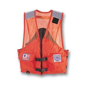 Utility Flotation Vest w/ USCG Markings