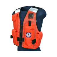 SAR Life Boat Crew Survival Vest for USCG Auxiliary