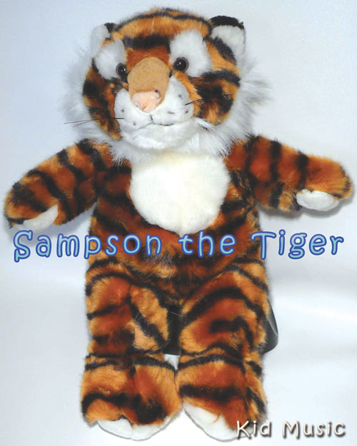 Sampson the Tiger Personalized Stuffed Animal