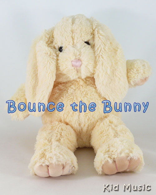 Bounce the Bunny Personalized Stuffed Animal
