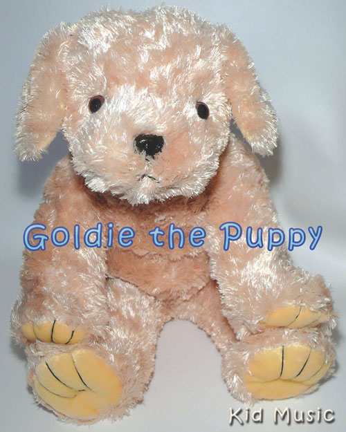Goldie the Puppy Personalized Stuffed Animal