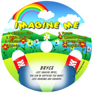 Imagine Me Friendly Songs Personalized Kids Music CD