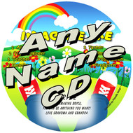 CUSTOM NAME - Imagine Me Personalized Kids Music CD