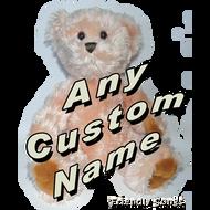 Custom Singing Stuffed Animal