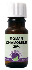 CHAMOMILE ROMAN 20% (Chamaemelium nobile/jojoba)  Organic