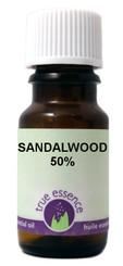 SANDALWOOD 50% (Santalum album/jojoba)
