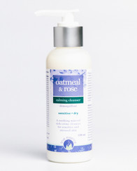 OATMEAL & ROSE CALMING CLEANSER
