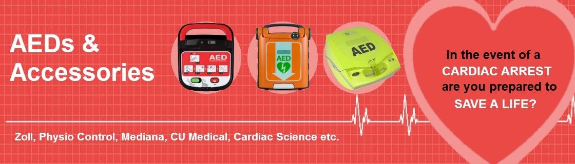 Defibrillators, AED, AED Spare Parts