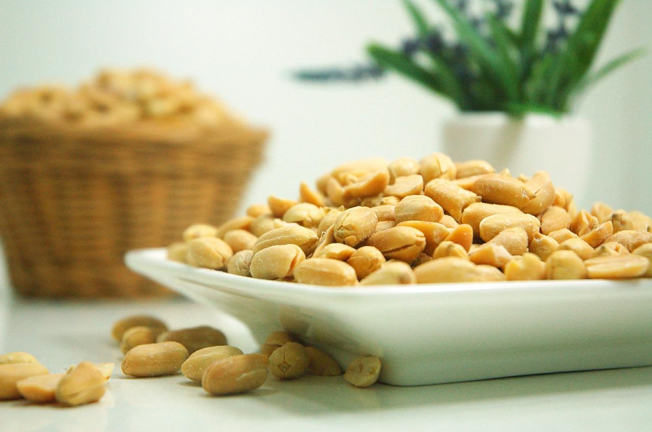 peanuts are a common