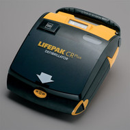 Lifepak CR Plus - open the lid and Defibrillator is ready to use!