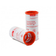 One Way Valve Disposable Adult Mouthpieces for Mini Wright / eMini Peak flow meters  x100