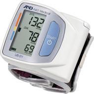 Wrist Blood Pressure Monitor UB-511- Compact , Light Weight and Portable