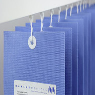 Disposable Curtain Summer Blue Universal with Eyelet