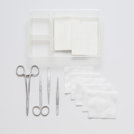 Sterile Suture Pack Silver Fine with disposable medical instruments