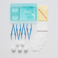 Medium Dressing Pack with sterile contents and clinical waste bag