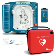 Philips HeartStart Onsite AED with a Slim Carry Case included, M5066A
