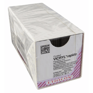 Vicryl Rapide Absorbable Suture, size 3-0, length 75cm