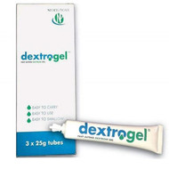 Dextrogel - Fast Acting Glucose Gel (25mg x3)