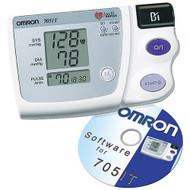 Omron 705-IT supplied with CD Rom for connecting to your Computer