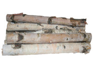 Northern White Birch Logs, set of 8
