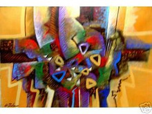 Abstract Art Philippines Oil Painting FREE SHIPPING