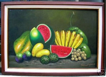 Fruits 24x36 Art Philippines Oil Painting
