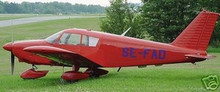 Pa-28-180 Cherokee-C Piper Airplane Wood Model FreeShip