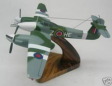 Westland Whirlwind Airplane Wood Model Free Ship New
