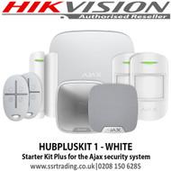 Ajax - HUBPLUSKIT 1 - WHITE Starter Kit Plus for the Ajax security system