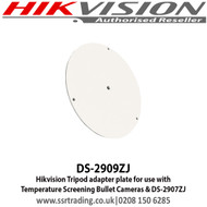 Hikvision Tripod adapter plate for use with Temperature Screening Bullet Cameras & DS-2907ZJ (DS-2909ZJ)