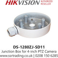 """Hikvision DS-1280ZJ-SD11 Junction box Suitable for 4"""" PTZ camera"""