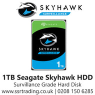 1TB Seagate Skyhawk Surveillance Hard Drive for CCTV DVRs NVRs & PC Desktop ST1000VX005