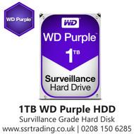 """1TB WD Purple SATA Surveillance 24x7 Storage Hard Drive HDD 3.5"""" WD10PURZ"""