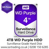 """4TB WD Purple SATA Surveillance 24x7 Storage Hard Drive HDD 3.5"""" WD40PURZ"""