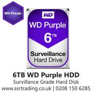 """6TB WD Purple SATA Surveillance 24x7 Storage Hard Drive HDD 3.5"""" WD60PURZ"""