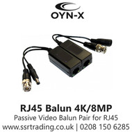 QVIS Passive HD Video and Power Balun 5MP