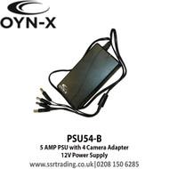 OYN-X 5 AMP 12V Power Supply PSU with 4way Splitter Built-in