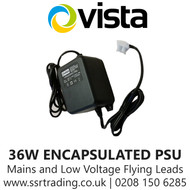 24VAC 1500MA (36W) Encapsulated PSU - Mains and Low Voltage Flying Leads - VPSU24VAC-1500E