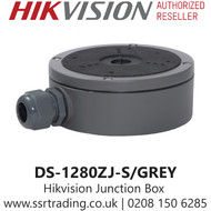 Hikvision Large Junction Box for Different Cameras in Grey - DS-1280ZJ-S/Grey