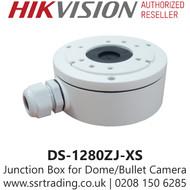 Hikvision Junction box for Mini Eyeball and Bullet Cameras DS-1280ZJ-XS
