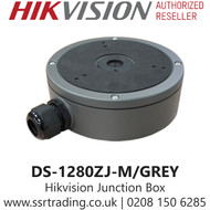 Hikvision Large Junction Box for Different Cameras in Grey - DS-1280ZJ-M/Grey