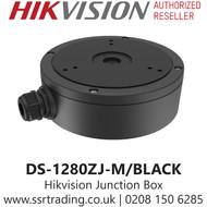 Hikvision Large Junction Box for Different Cameras in Black - DS-1280ZJ-M/BLACK