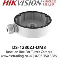 Hikvision Flush Junction Box  IP Turret Cameras DS-1280ZJ-DM8
