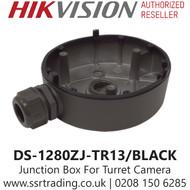 Hikvision Flush Junction Box Turret Cameras in Black - DS-1280ZJ-TR13/BLACK