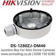 Hikvision Flush Junction Box For Mini Dome Cameras - DS-1280ZJ-DM46