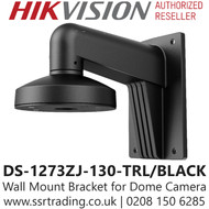 Hikvision Wall Mount Bracket in Black Colour - DS-1273ZJ-130-TRL/BLACK