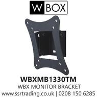 W Box Monitor Bracket Maximum load capacity of 15kg. (WBXMB1330TM)