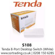 Tenda 8 Port 10/100Mbps Desktop  Switch S108