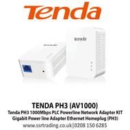 TENDA Powerline Adaptor AV1000 Pair PH3